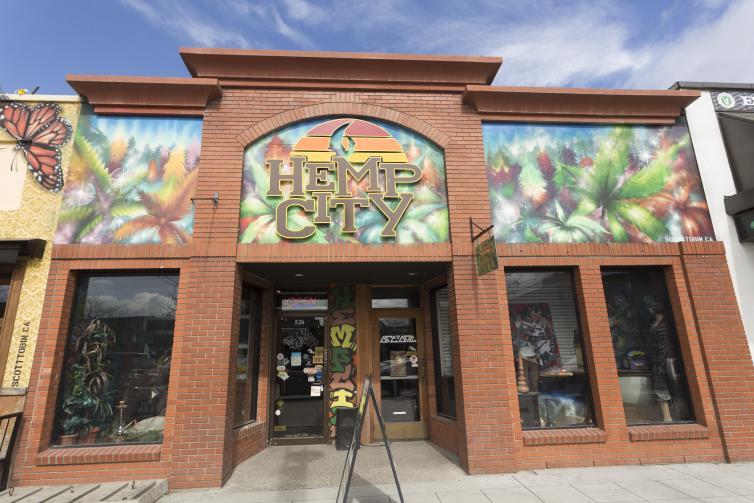 Hemp City Building Art
