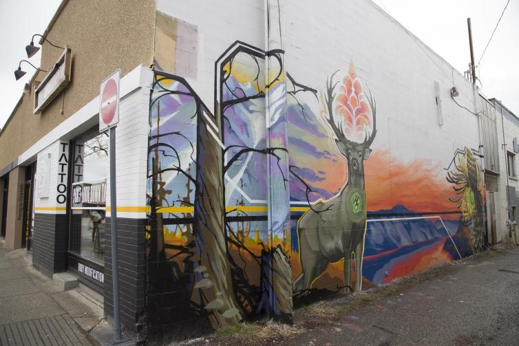 St. Paul Street Art