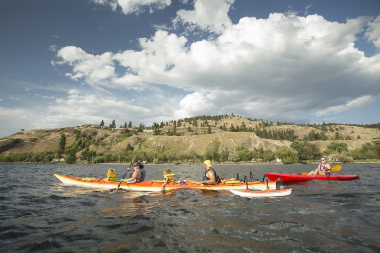 Kayaking with CRIS