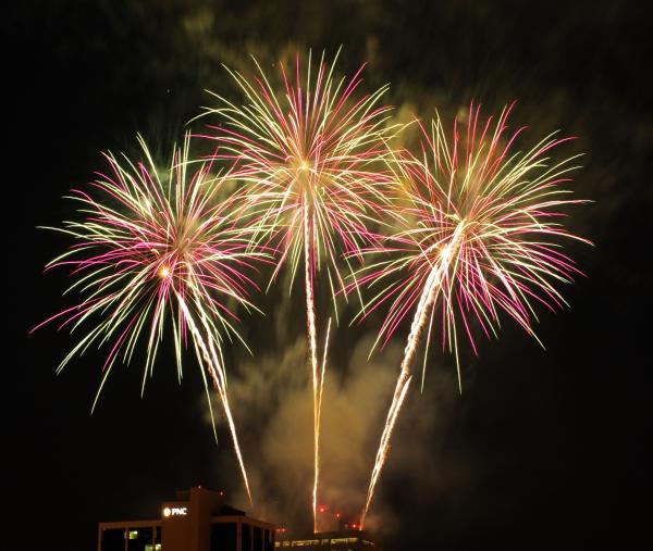 Three Rivers Fireworks - Fort Wayne, Indiana
