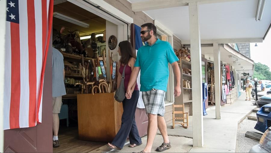 Shopping in Chimney Rock, NC