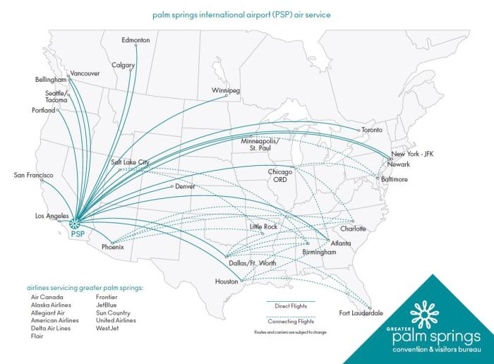 Connecting Flight Map