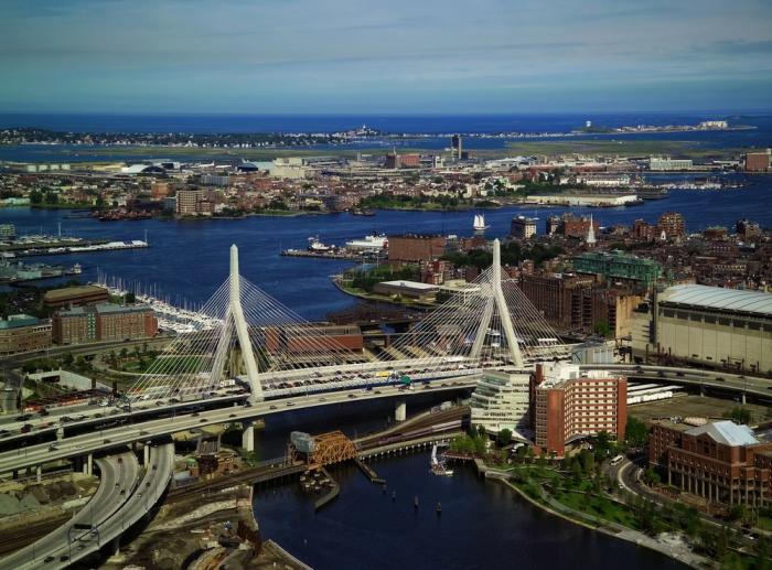 boston overview aerial zakim