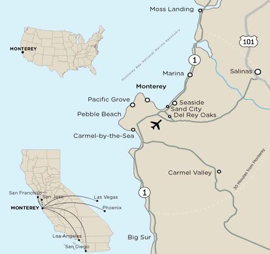 Map of Flights