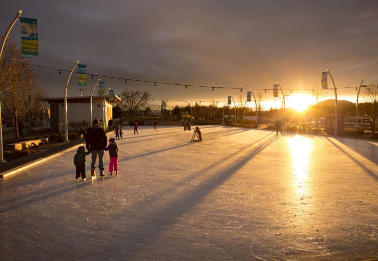 Sunset at Stuart Park