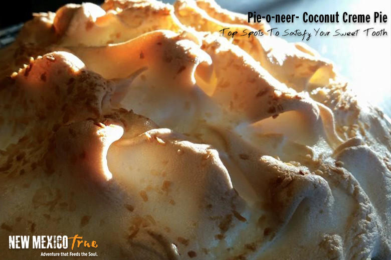Coconut Cream Pie from The Pie-O-Neer; Pie Town