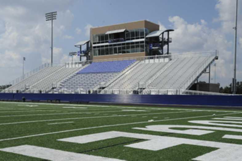 Football Bleachers - Rogers School District