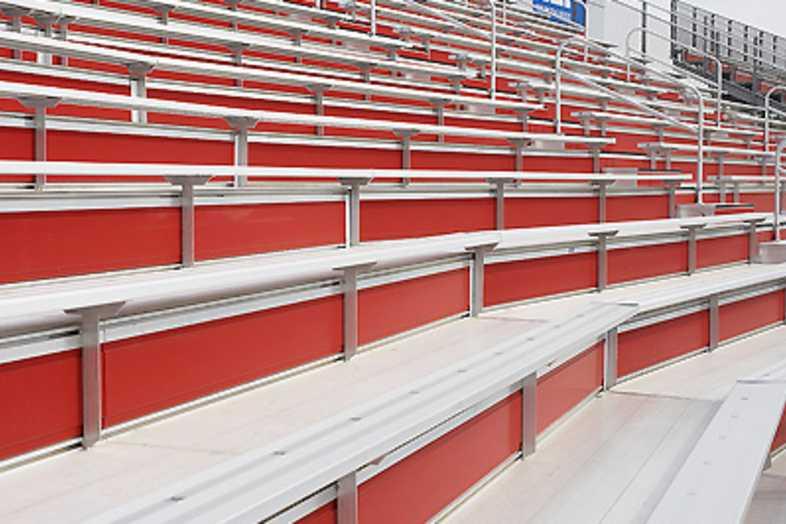 Football Bleachers - North Carolina State University (NC State)