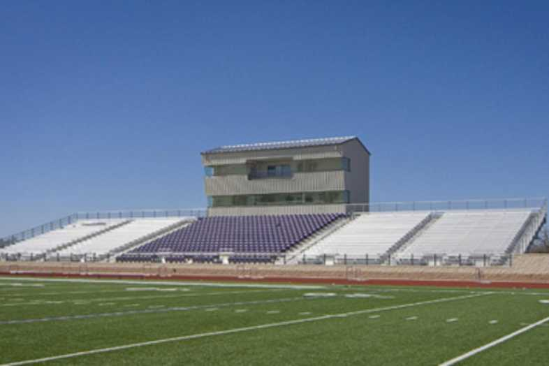 Football Bleachers - Jacksboro ISD
