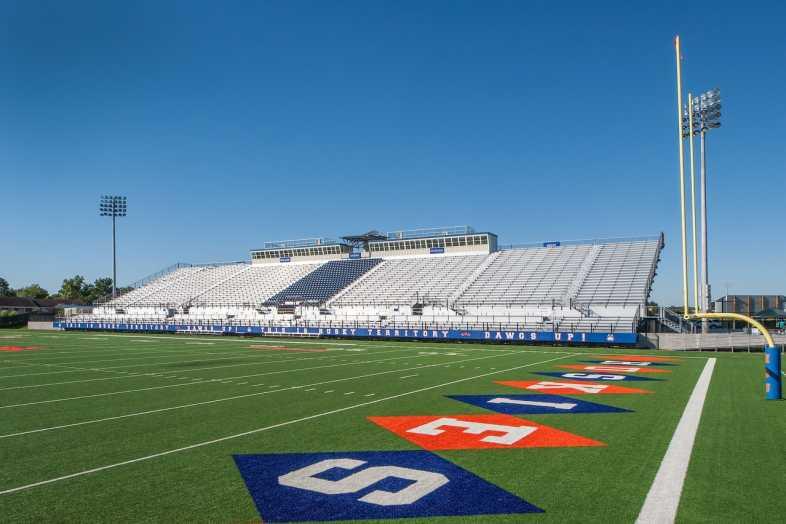 Houston Baptist University Football Bleachers - 10