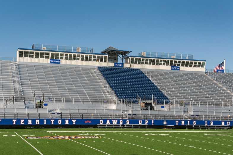 Houston Baptist University Football Bleachers - 13