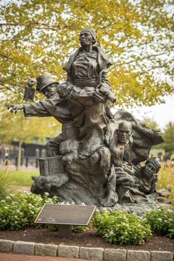 Tubman-Garrett Statue
