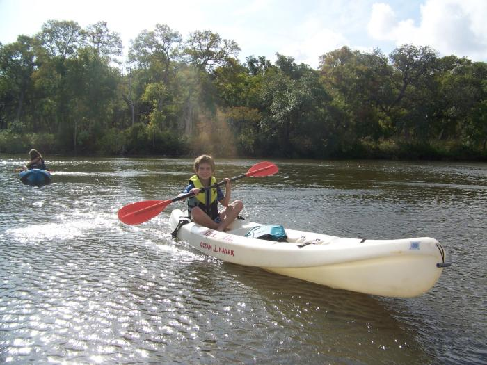 Kayaking in Brazosport