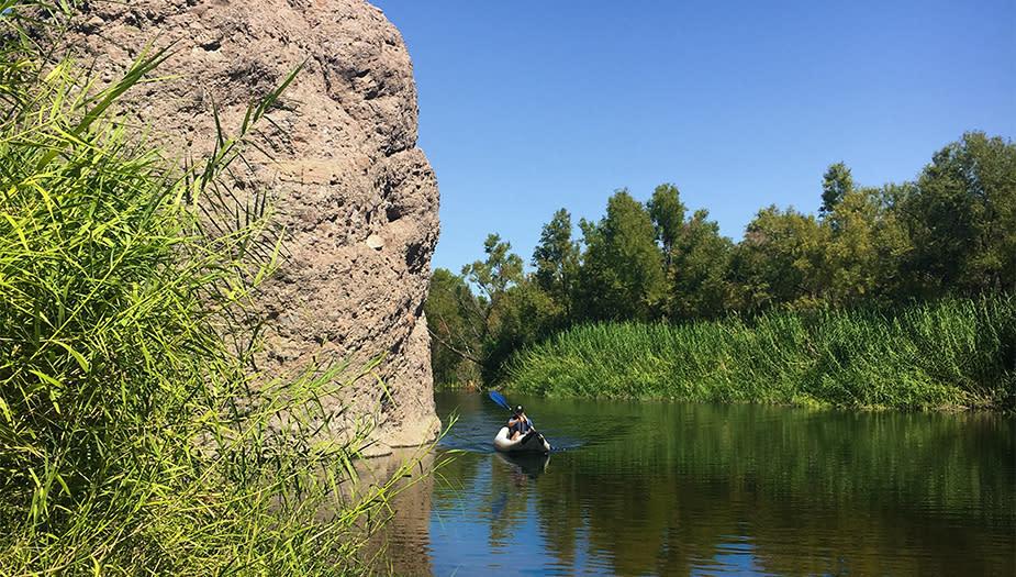 Needle rock kayaking