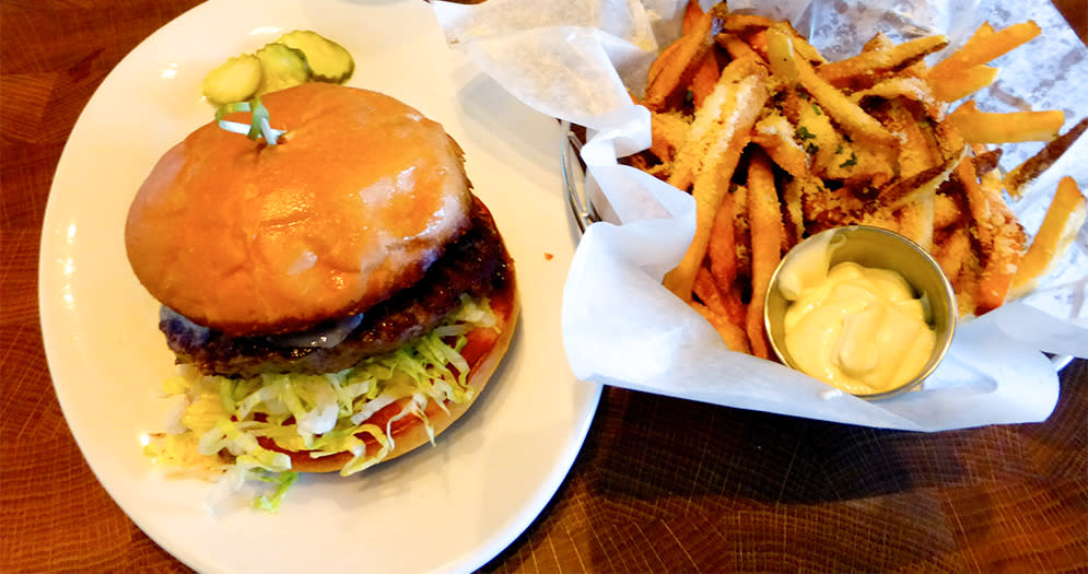 Boots & Burgers Meal Photo