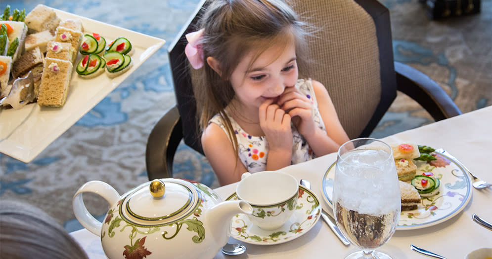 Afternoon Tea at the the Phoenician 1