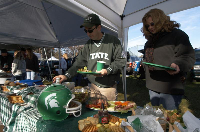 tailgating spread