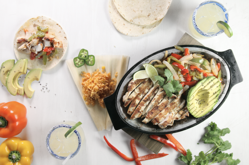 margaritas ans fajitas with fresh ingredients from Iron Cactus in Austin Texas