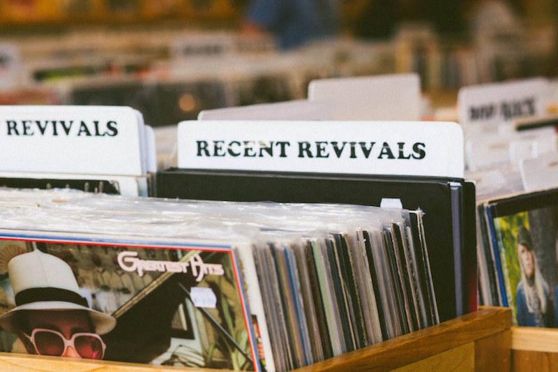 Favorite Rainy Day Activity - Revival Records - Photo by: Kelsey Smith