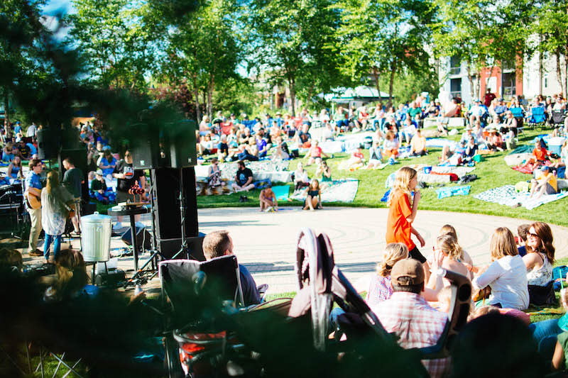 Favorite Local Festival  - Sounds Like Summer Concert Series - Photo by: Kelsey Smith