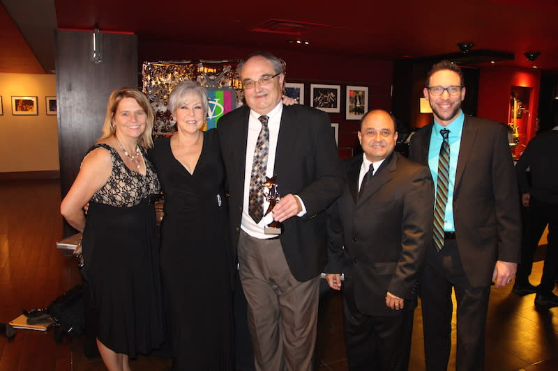 Spirit Award Picture with Tammy Rita Amgad Jordan
