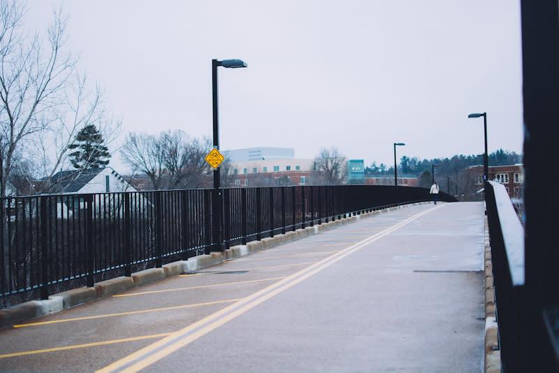 Favorite Place to #CaptureEC - UWEC Walking Bridge - Photo by: Kelsey Smith