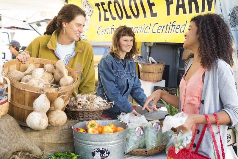 Vendor at SFC Farmers Market