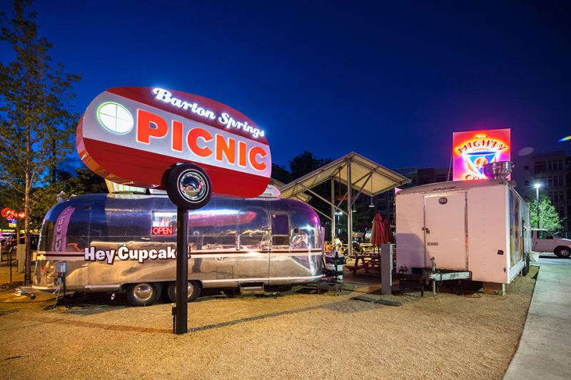 The Picnic Food Truck Park at Barton Springs