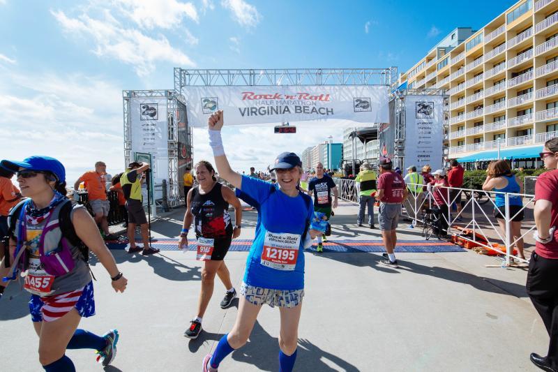 Virginia Beach Humana Rock N Roll half Marathon