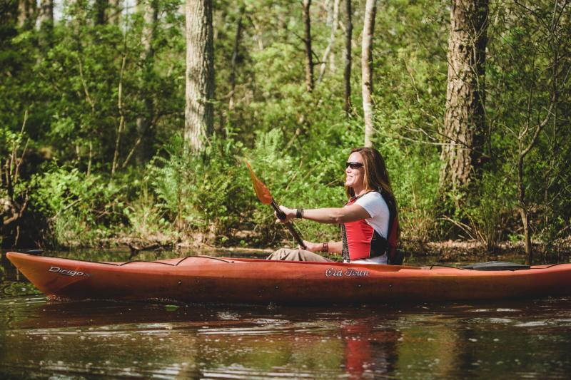 Kayaking Back Bay Virginia Beach