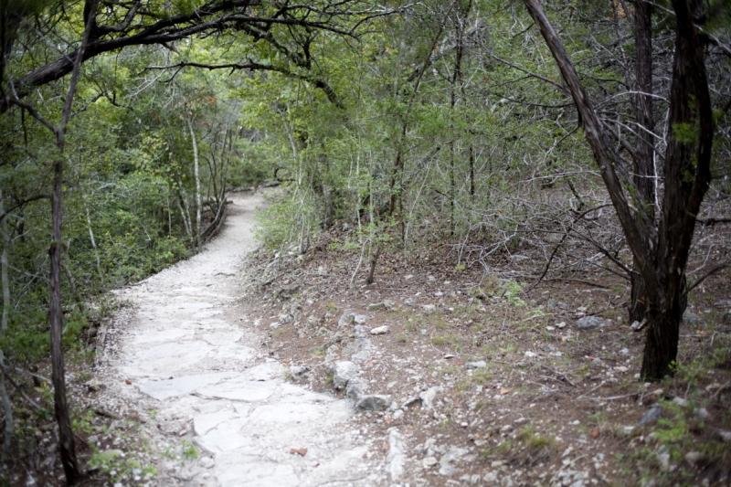Wild Basin Preserves Woodland Trail in Austin Texas