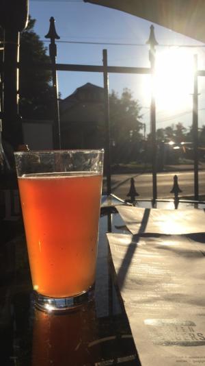 Craft beer on the Brazenhead Patio