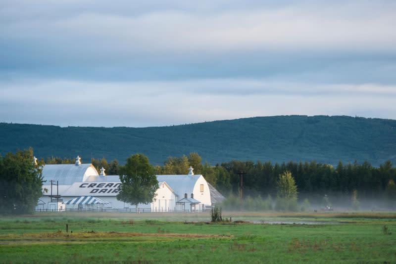 Creamer's Field Fairbanks, Alaska