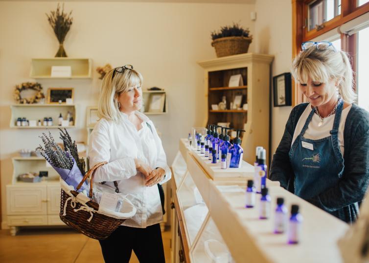 Lavender Farm Gift Shop
