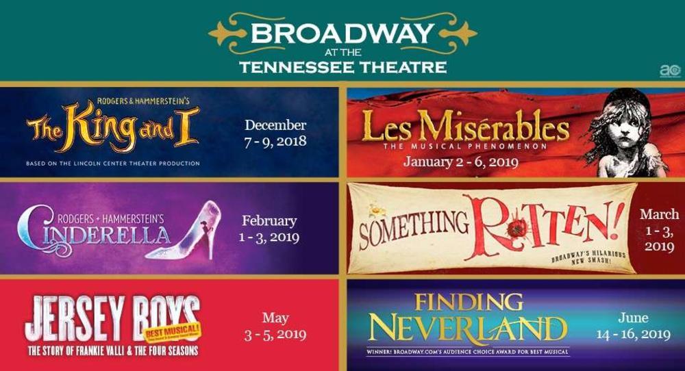 2018 - 2019 Season Broadway