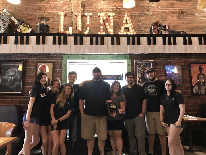 Luna Bar & Grill - Second Place