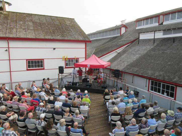 Music at the Cannery - Photo: Gulf of Georgia Cannery