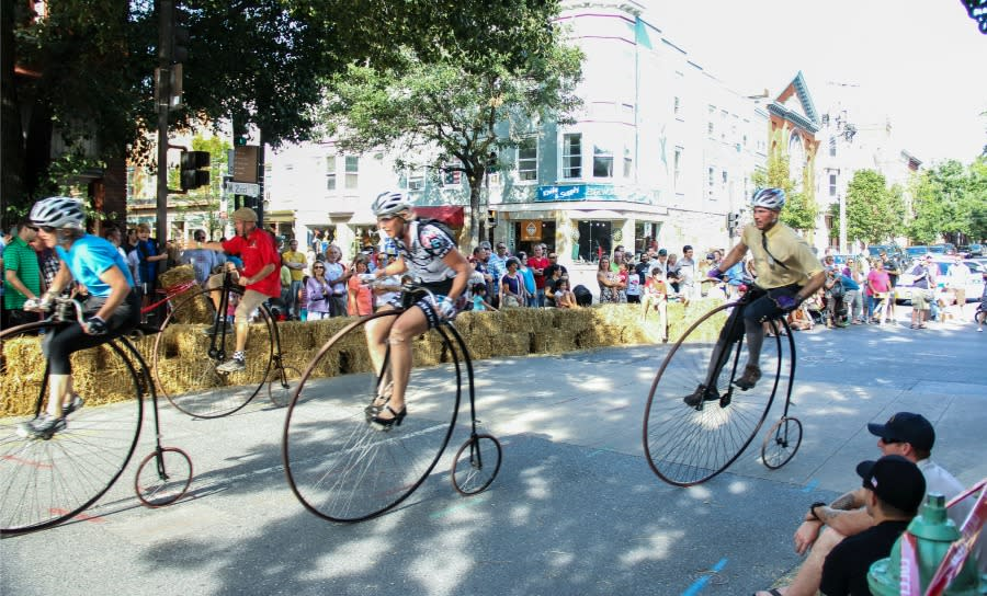 Frederick High Wheel Race