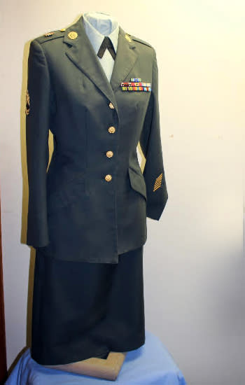 Women in the Military Uniform