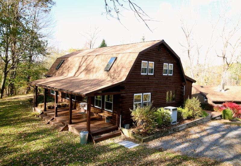The barn at Kettle Ridge Farm.