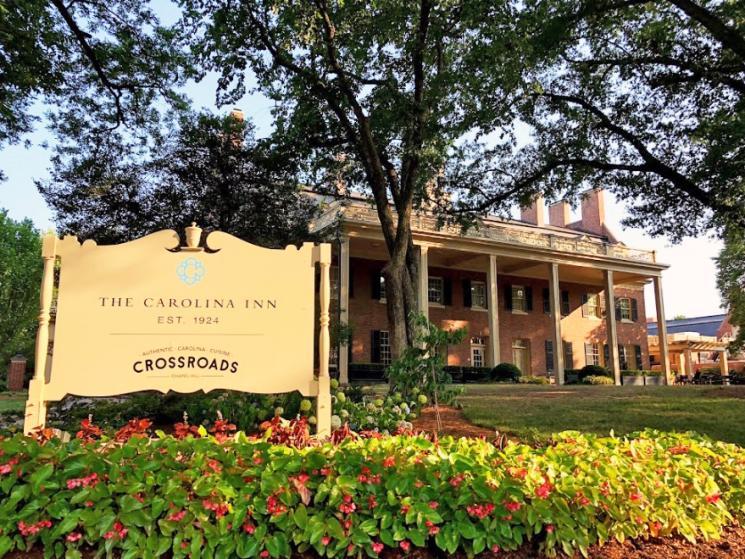 View of Carolina Inn in Summer