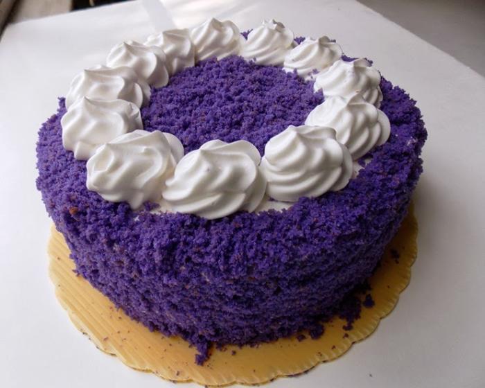 Purple Ube Overload Round Cake