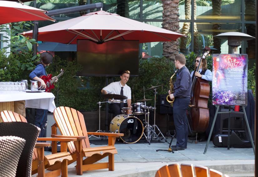 Live jazz at Bistango in Irvine