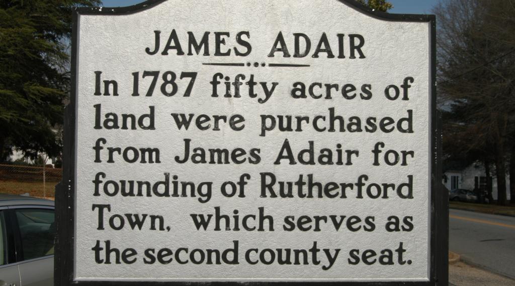 James Adair Marker