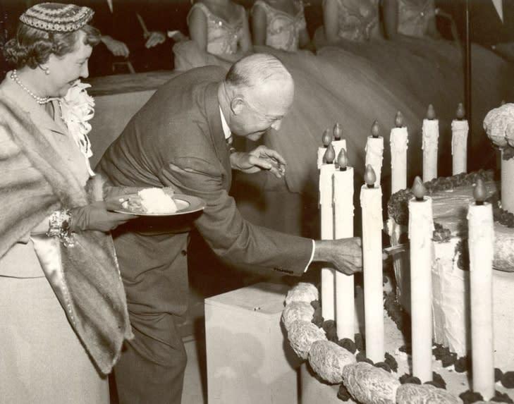 Dwight D. Eisenhower Birthday Cake in Hershey