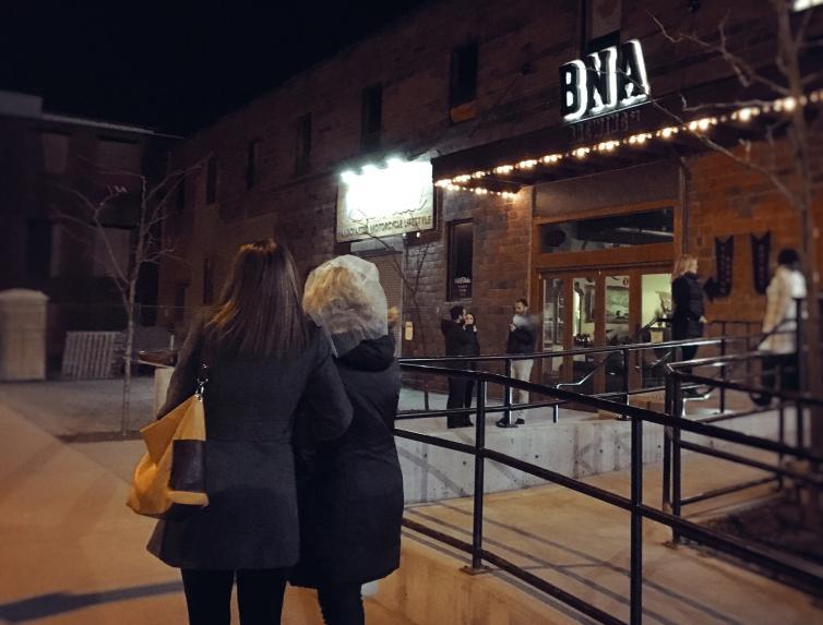 BNA at Night