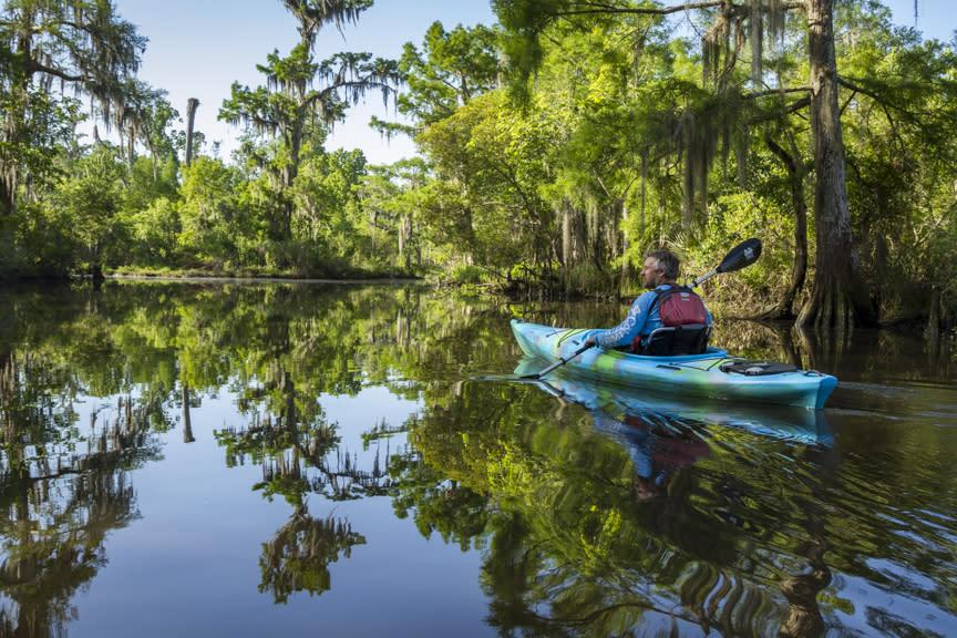 Kayaking Canoe and Trail