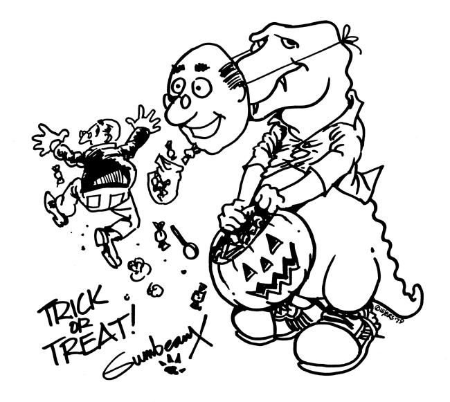 Gumbeaux Halloween Coloring Sheet | Lake Charles, Louisiana