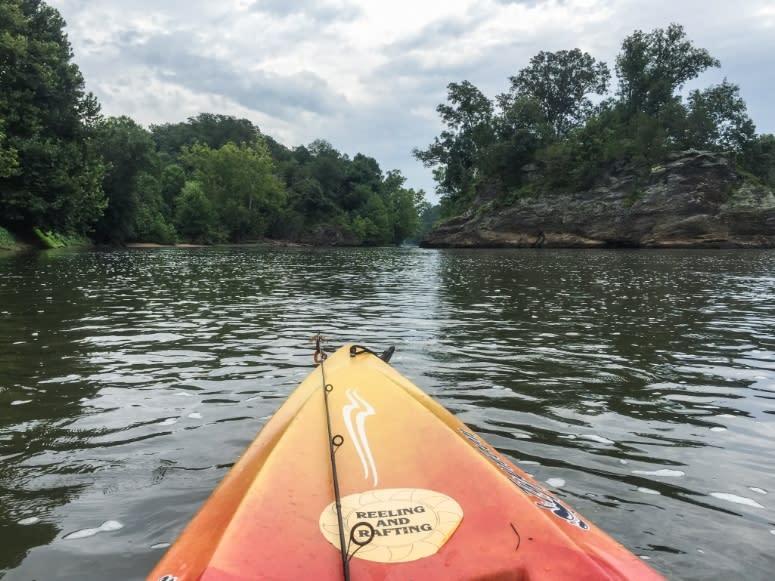 Kayaking & Fishing