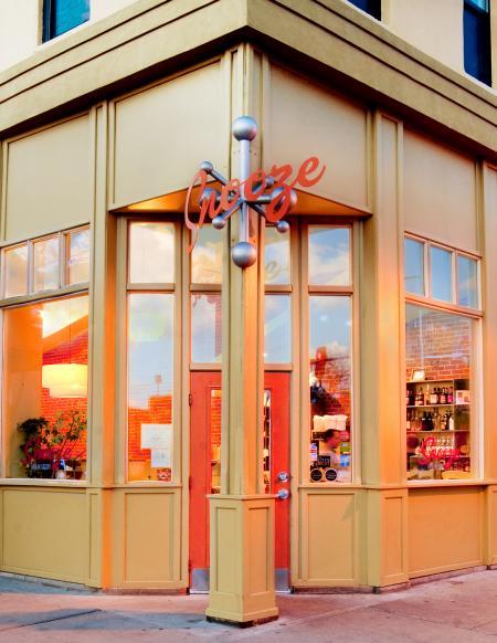 Exterior of Denver's Snooze restaurant